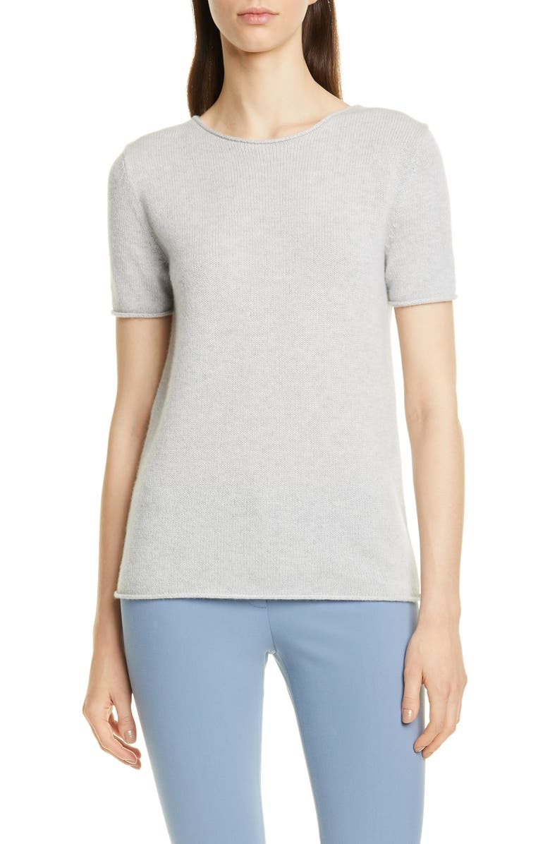 dc0b3a2c1ca Theory 'Tolleree' Short Sleeve Cashmere Pullover | Nordstrom