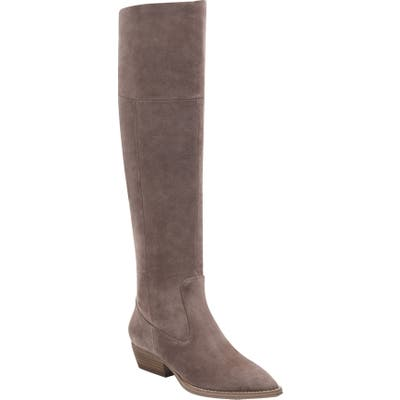 Marc Fisher Ltd Oshi Over The Knee Boot, Beige