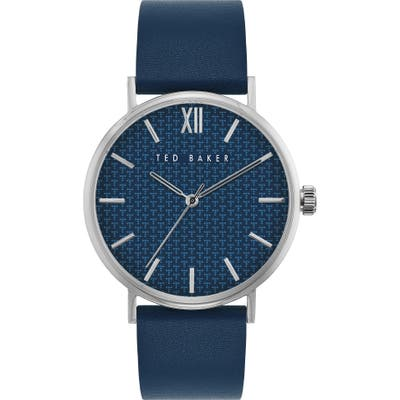 Ted Baker London Phylipa Gents Leather Strap Watch, 4m