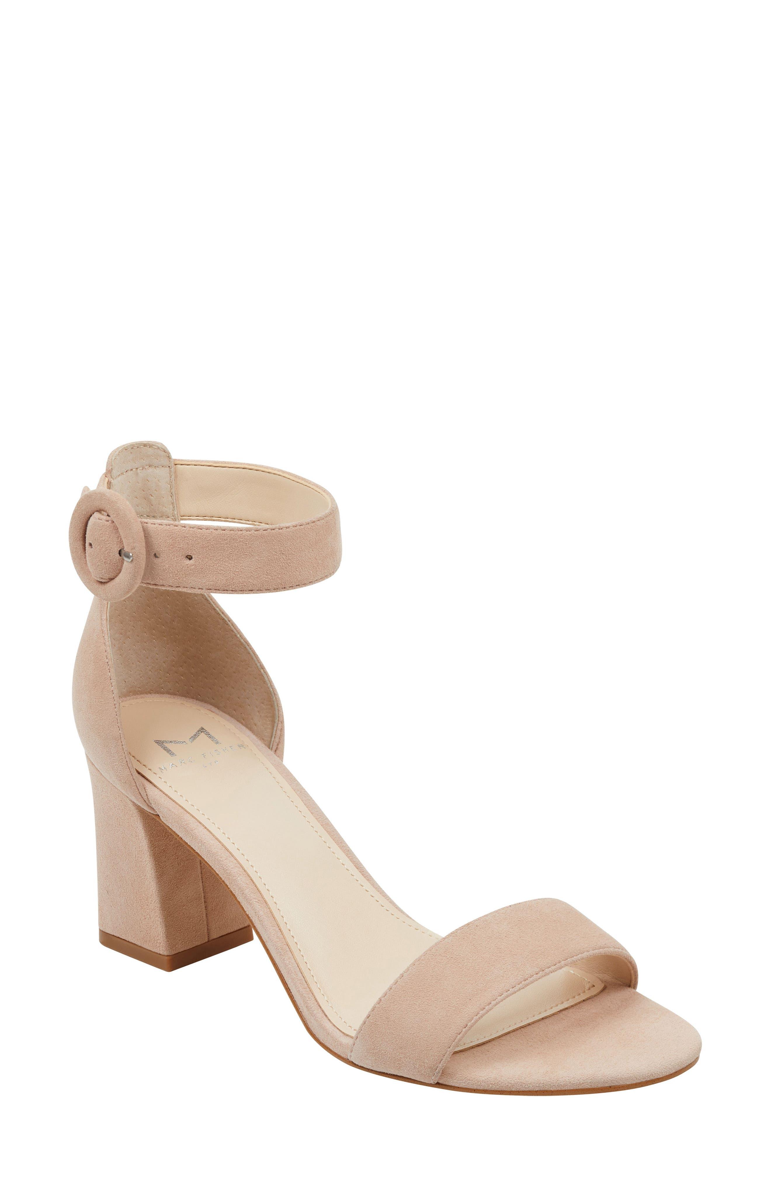 Marc Fisher LTD Karlee Ankle Strap Sandal (Women)