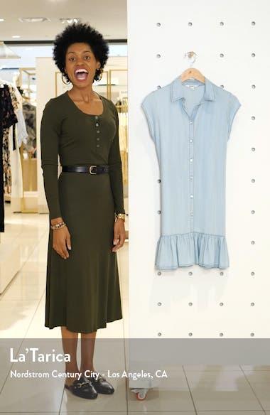 Sway Chambray Shirtdress, sales video thumbnail