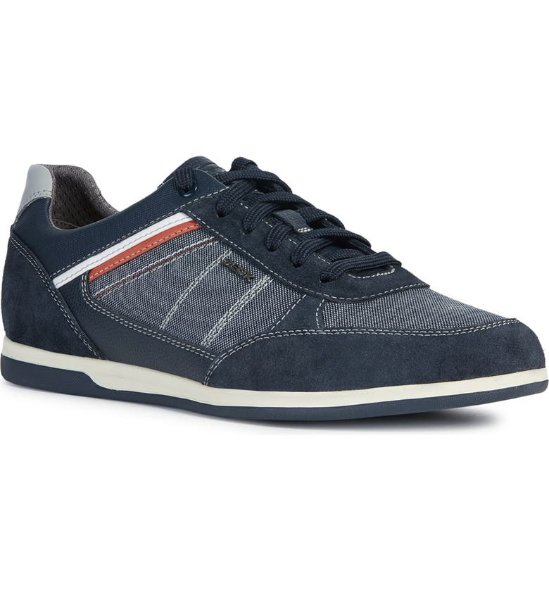GEOX Renan Sneaker, Main, color, NAVY