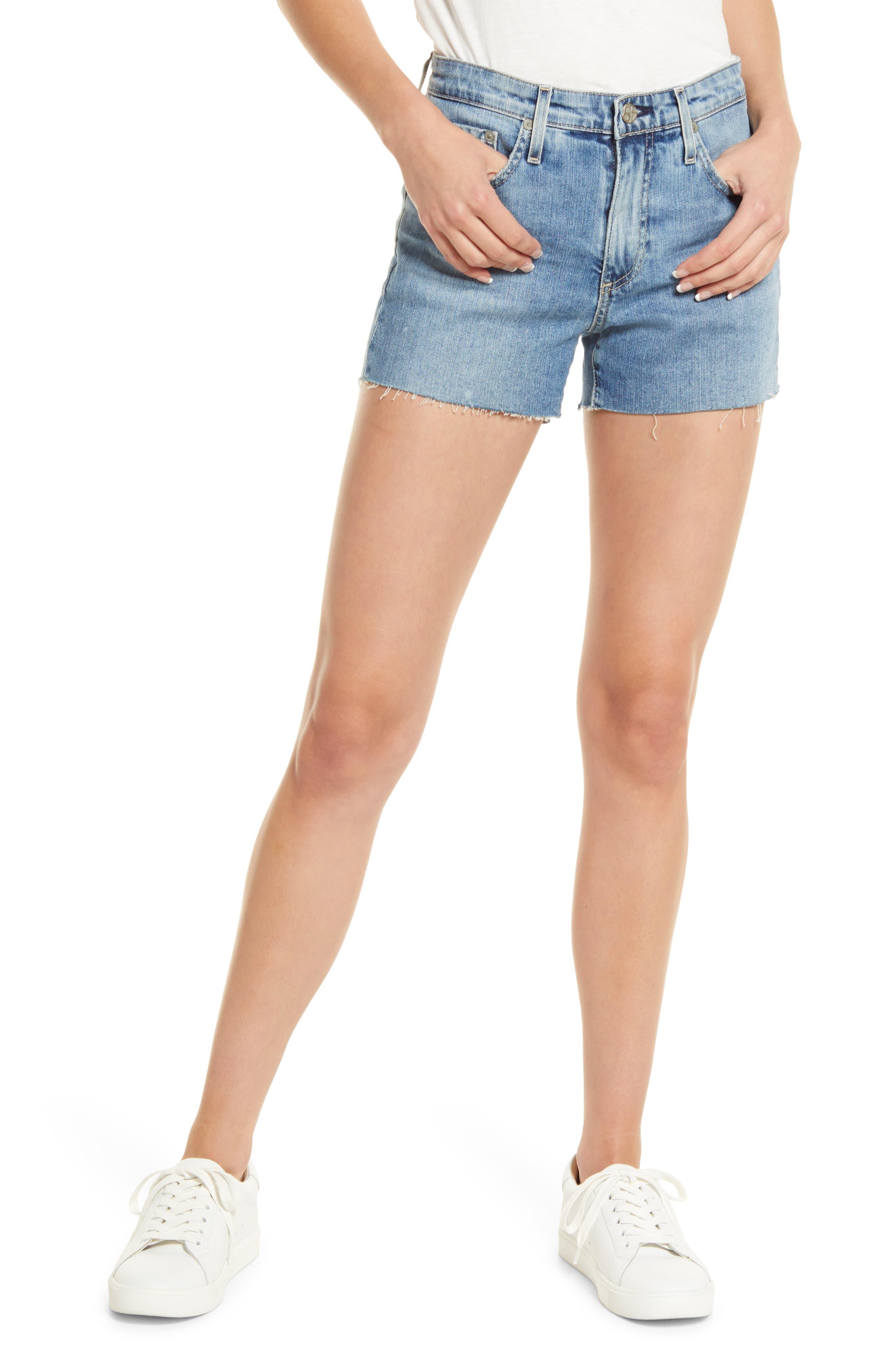 Becke Cutoff Denim Shorts