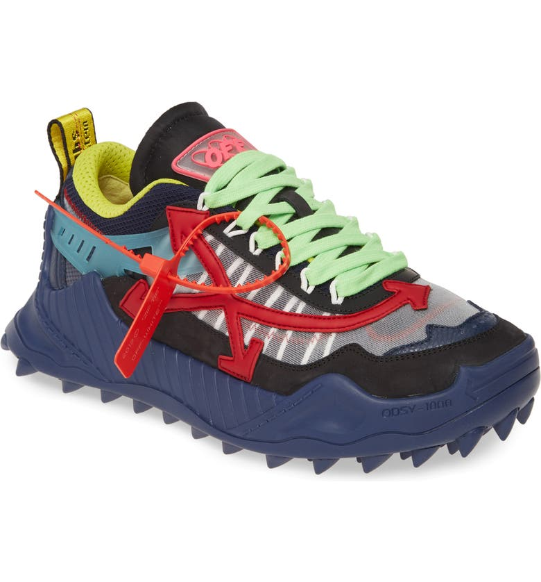 OFF-WHITE Odsy-1000 Sneaker, Main, color, BLUE RED
