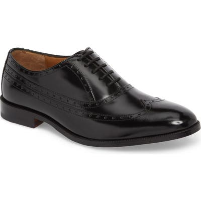 Johnston & Murphy Bradford Wingtip Oxford XW - Black