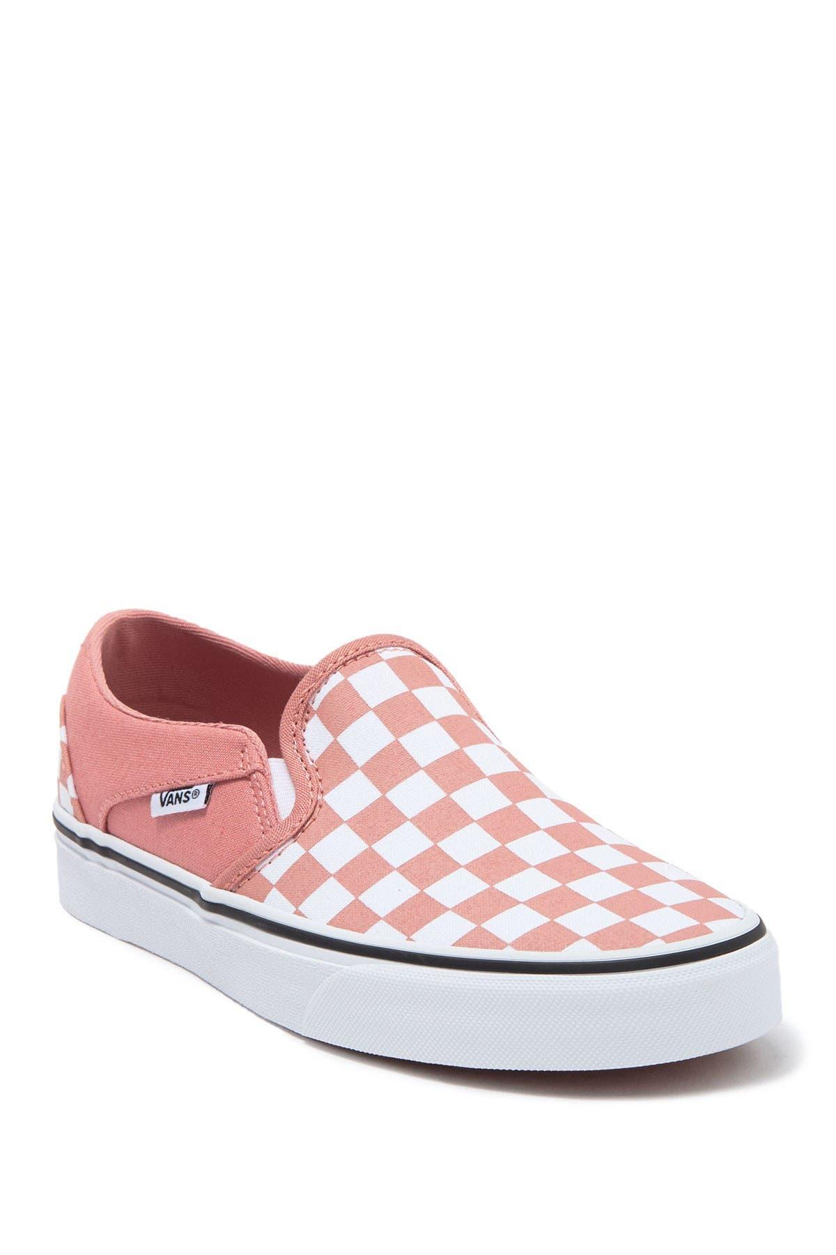 Image of VANS Asher Slip-On Checkerboard Sneaker