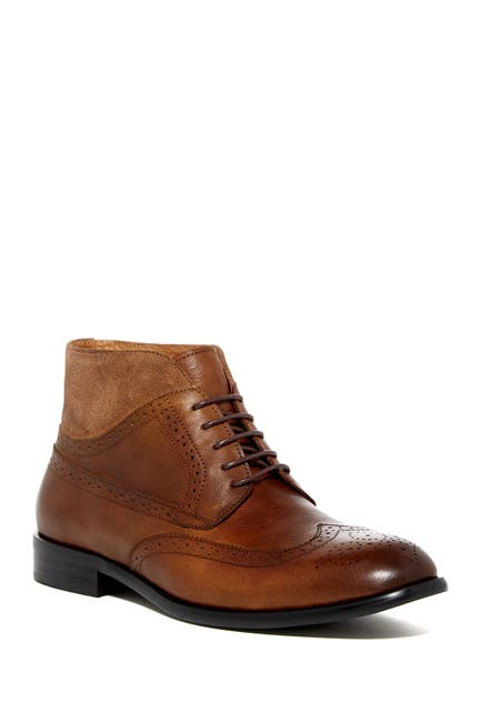Image of Vintage Foundry Graham Wingtip Leather Chukka Boot