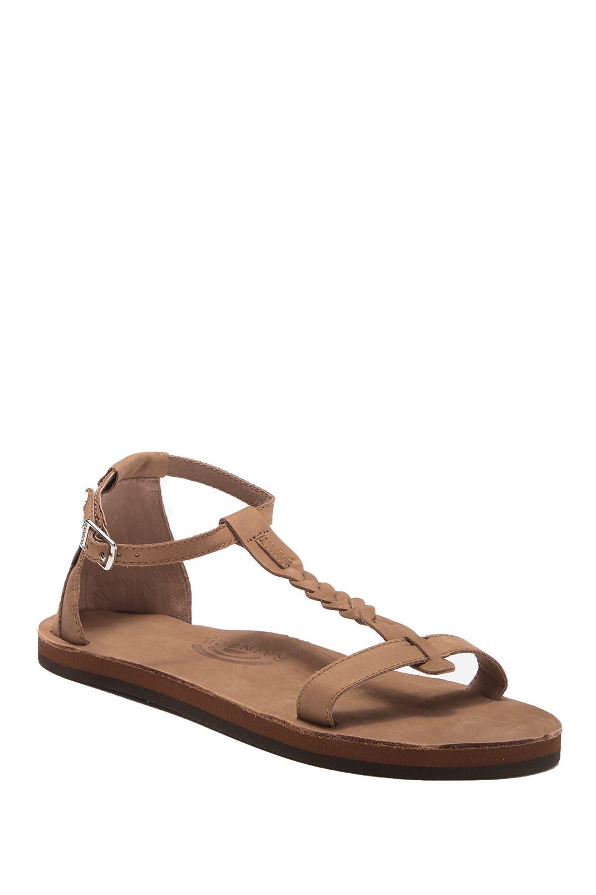 Rainbow   Calafia Braid Sandal