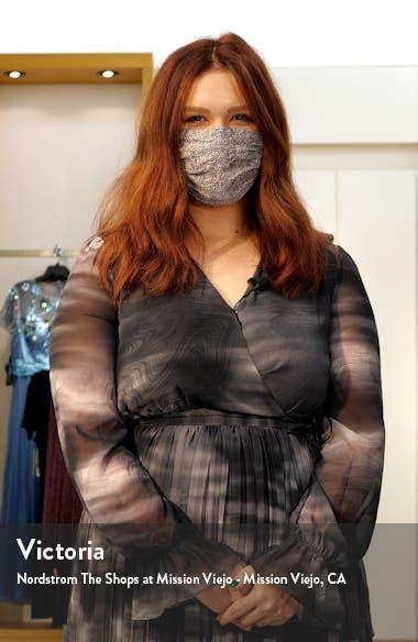 Libby Puff Sleeve Linen Blend Dress, sales video thumbnail