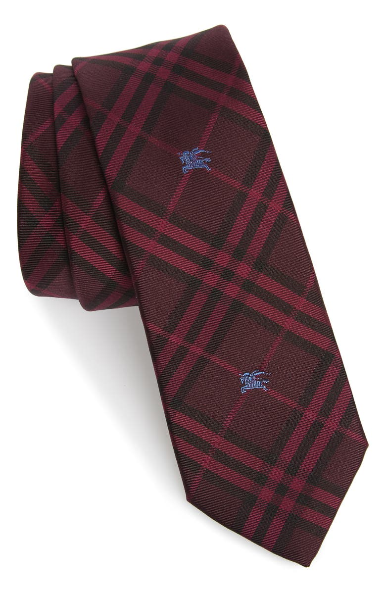 BURBERRY Stanfield Silk Tie, Main, color, 930