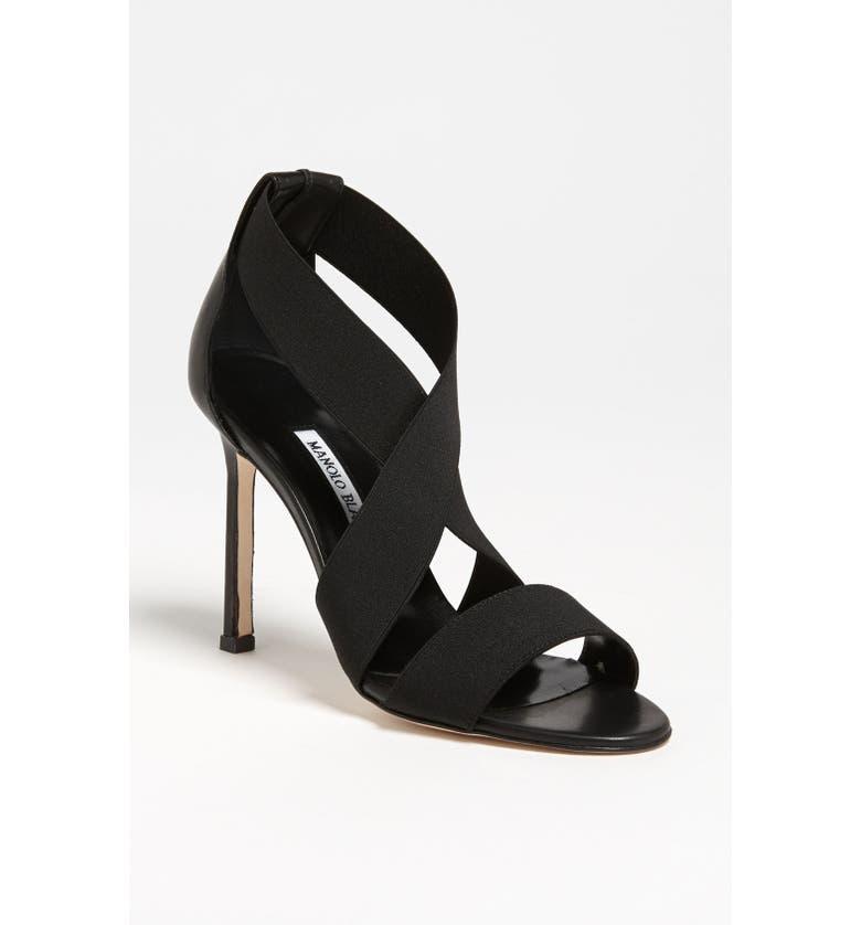 MANOLO BLAHNIK 'Kandita-Mod' Sandal, Main, color, 001