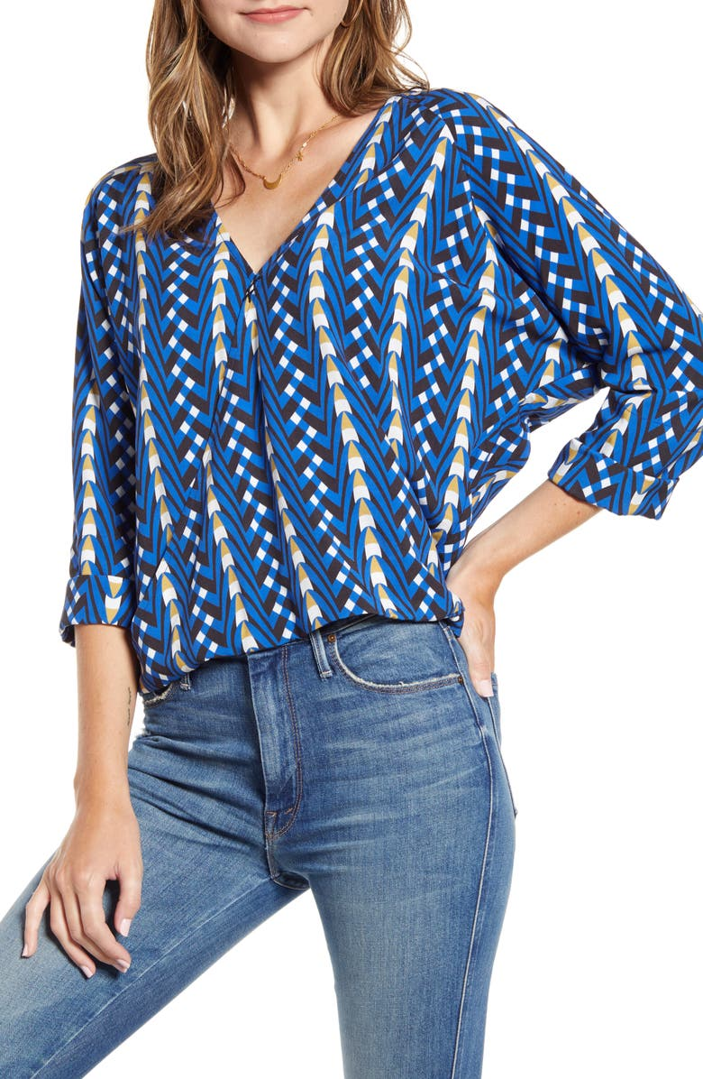 THE ODELLS Wrap Slouch Top, Main, color, 430