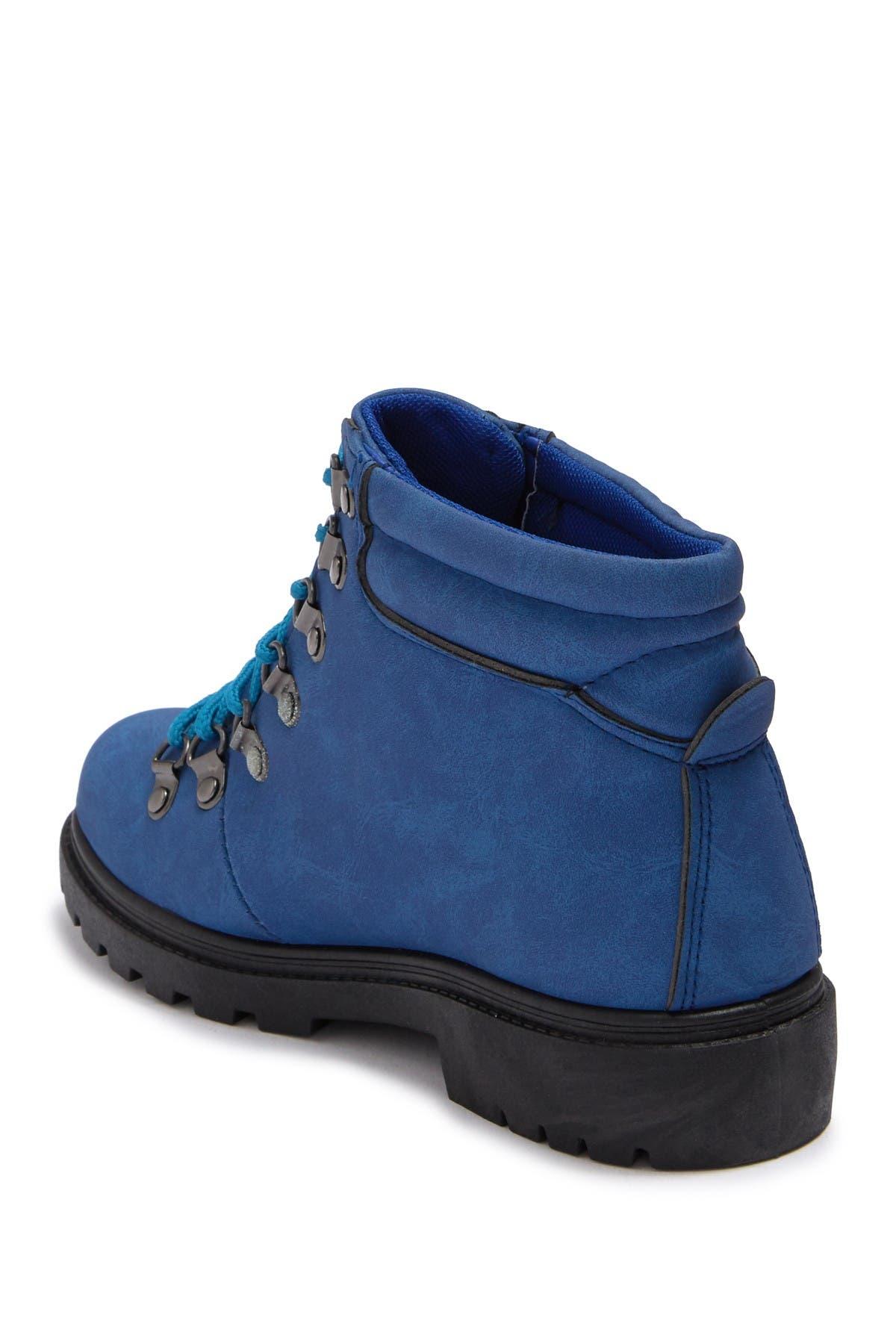 OLIVIA MILLER OMG Lace-Up Hiker Boot