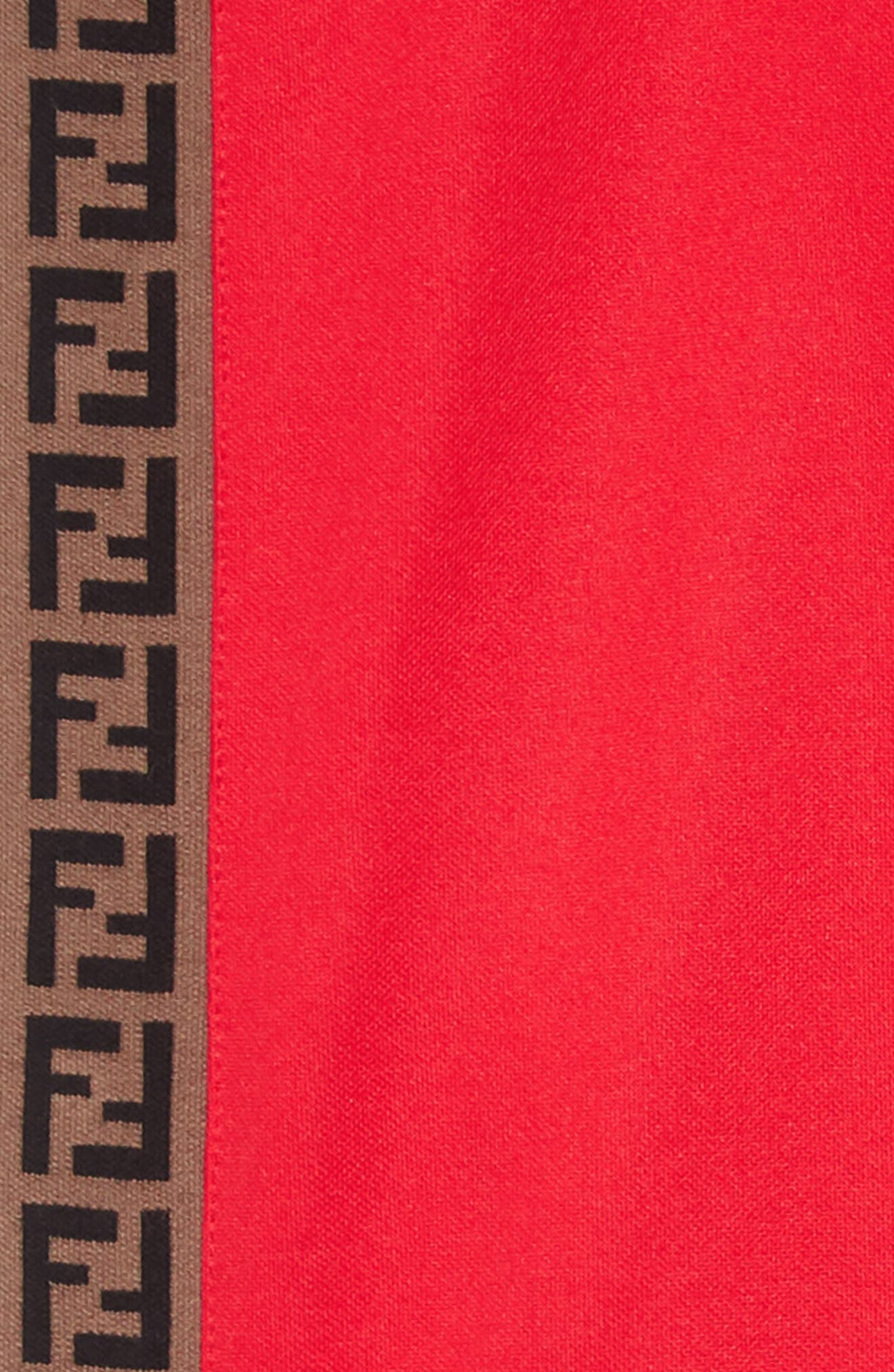 ,                             Logo Detail Snap Outseam Track Pants,                             Alternate thumbnail 2, color,                             F0QC9 RED