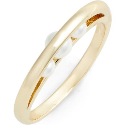 Jules Smith Imitation Pearl Looped Ring