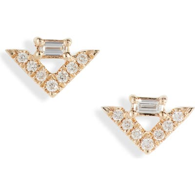 Dana Rebecca Designs Sadie Diamond Stud Earrings