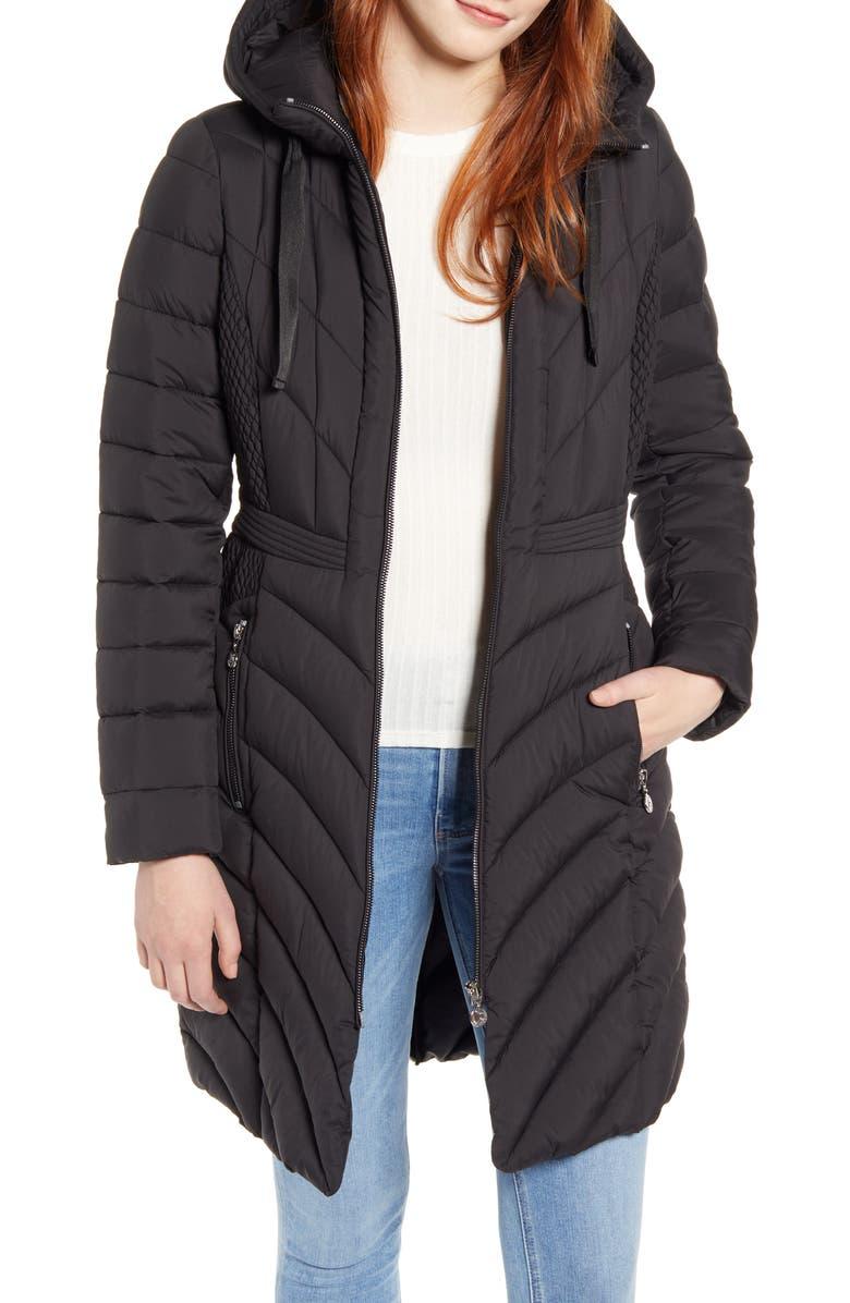Packable Hooded Walker Coat by Bernardo