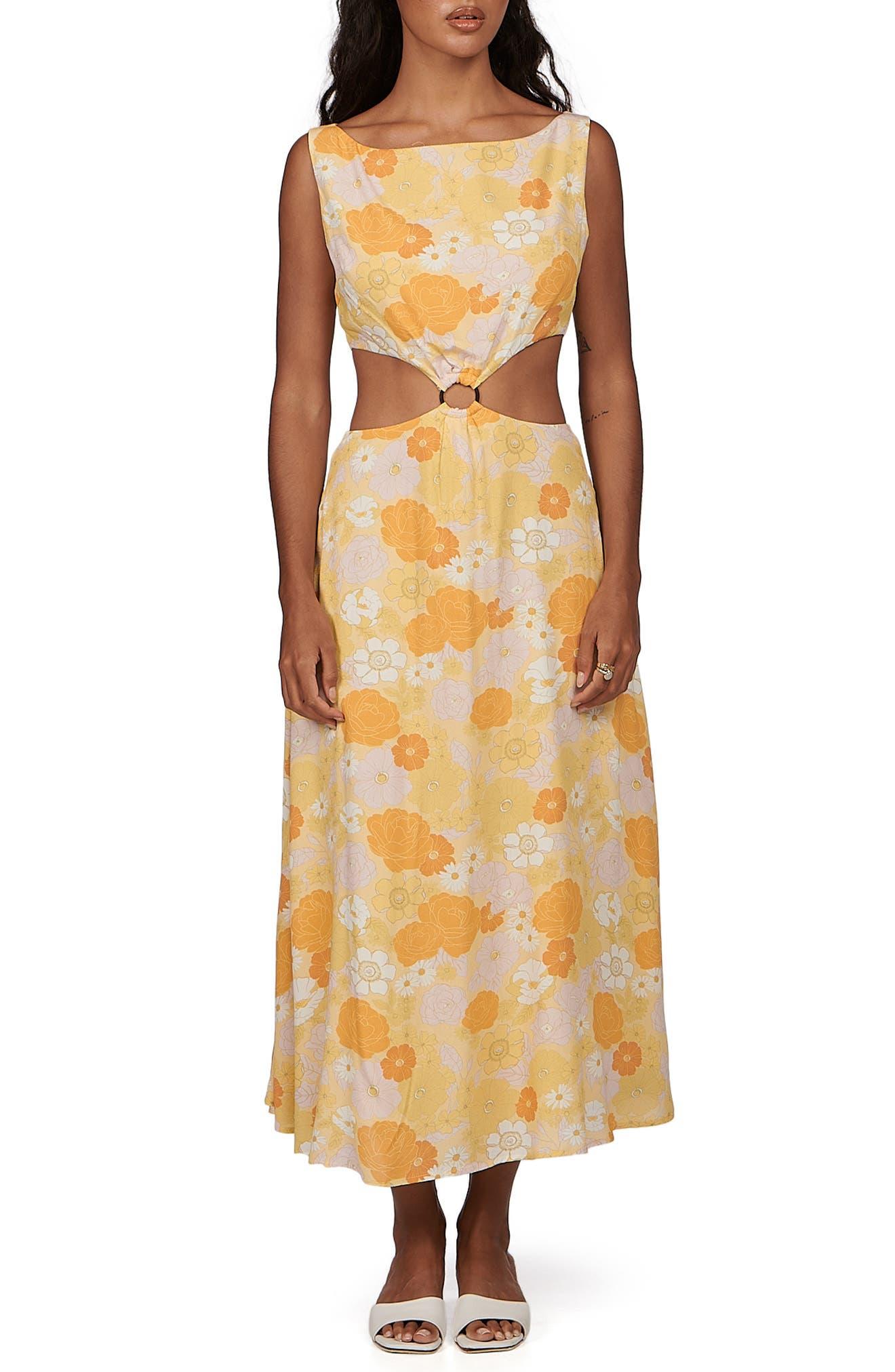 Clemence Cutout Dress