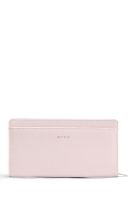 Image of Matt & Nat Webber Vegan Leather Zip Wallet + Card Case