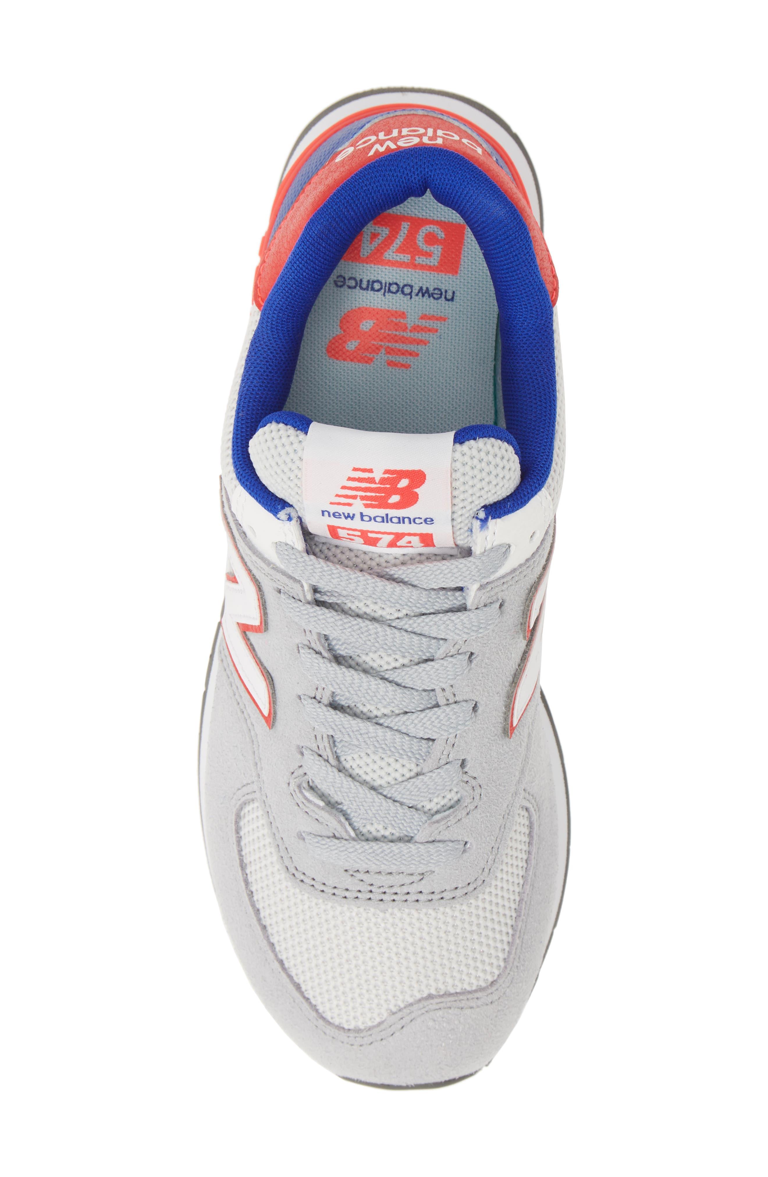 ,                             '574' Sneaker,                             Alternate thumbnail 5, color,                             RAIN CLOUD
