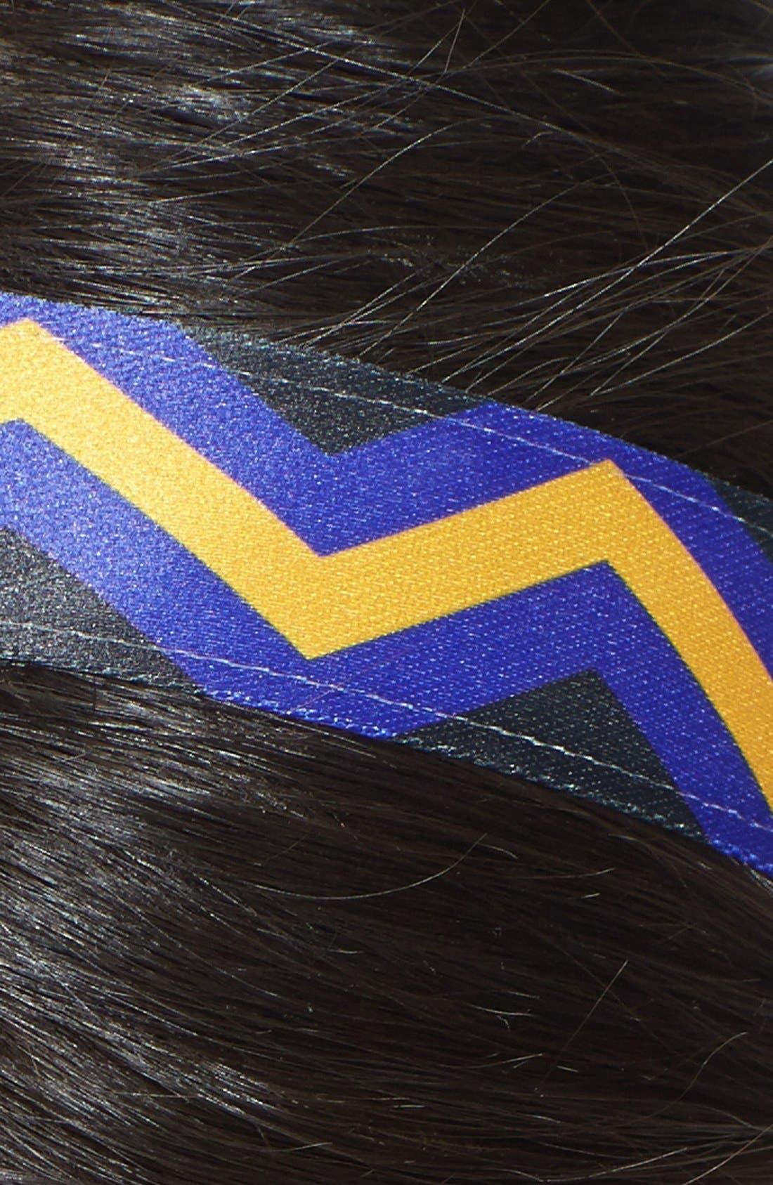 ,                             'Chevron Slide' Head Wrap,                             Alternate thumbnail 30, color,                             500