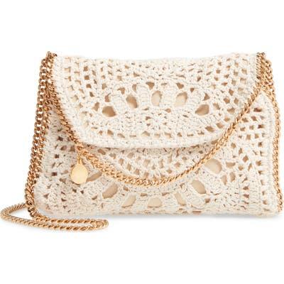 Stella Mccartney Mini Cotton Crochet Shoulder Bag - Ivory