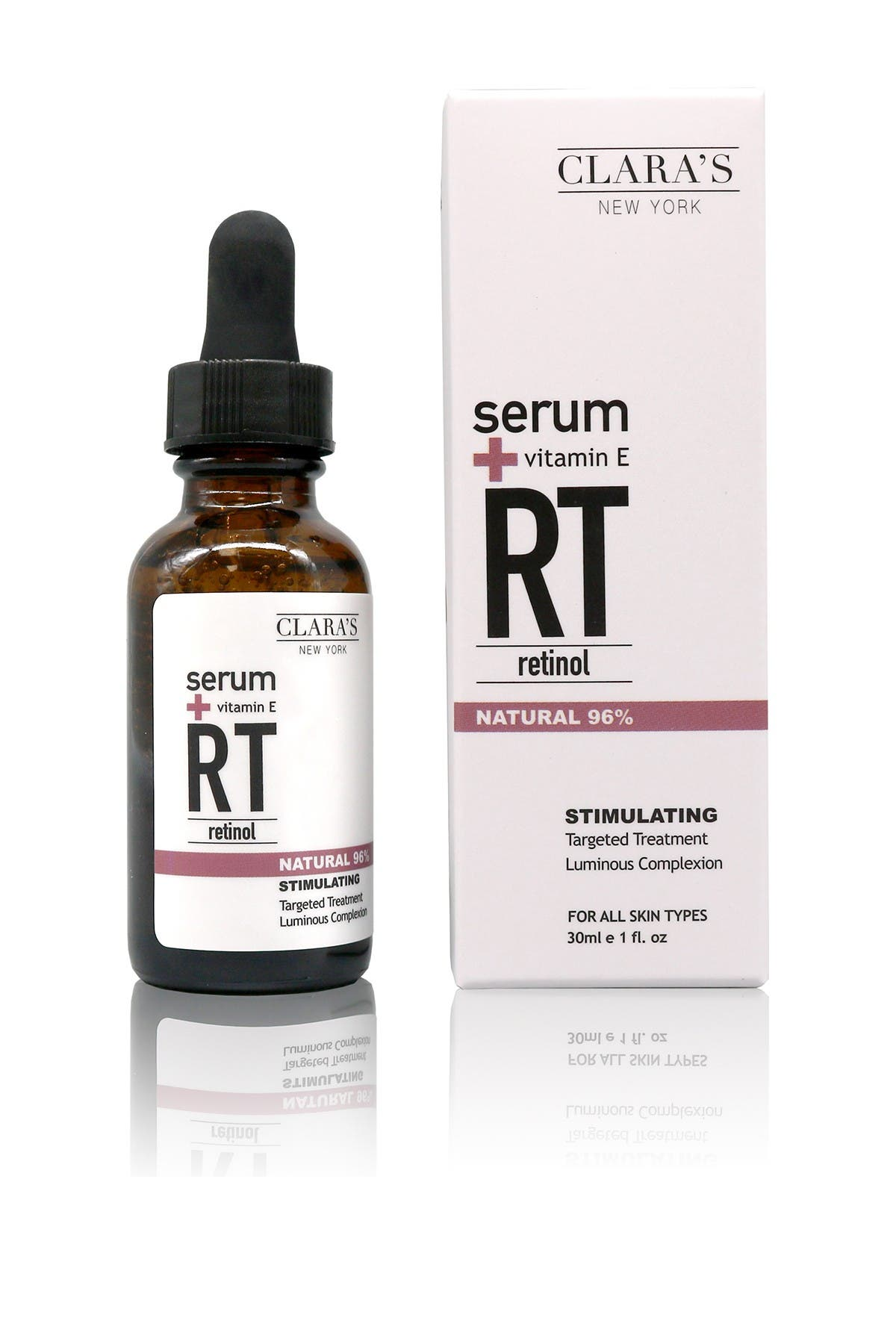Image of Clara's New York Stimulating Retinol Serum