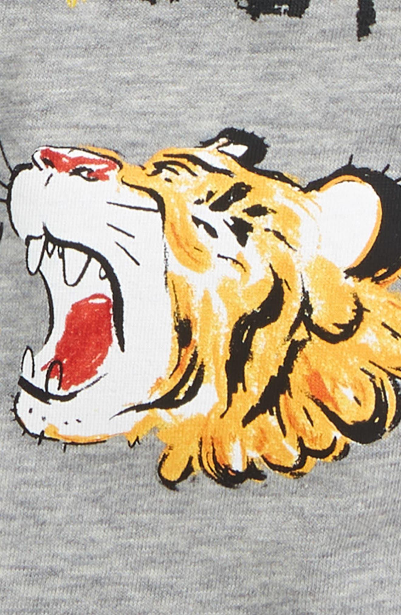 ,                             Wishify Graphic T-Shirt,                             Alternate thumbnail 2, color,                             LIGHT GREY MELANGE