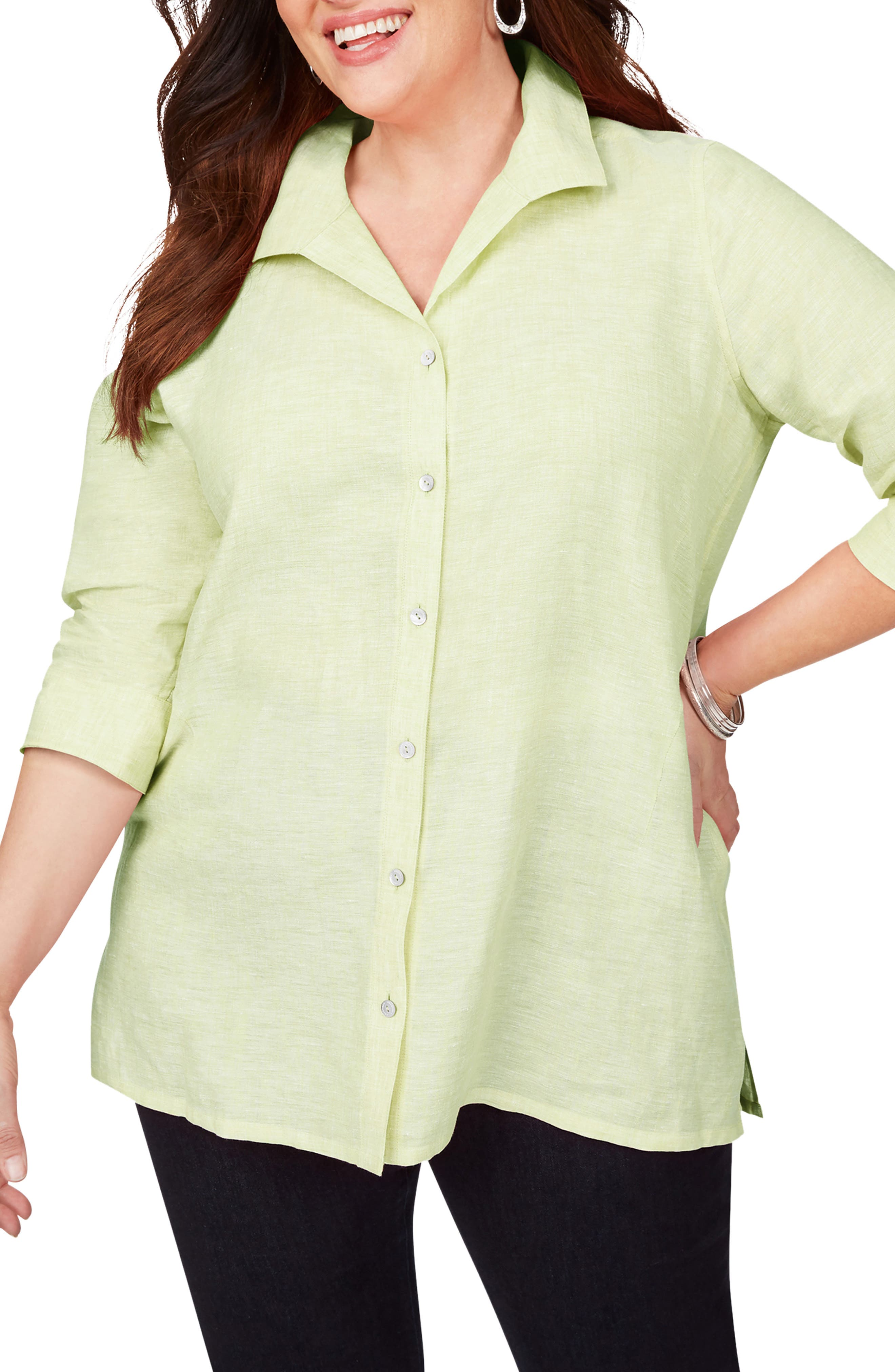 Stirling Woven Linen Top