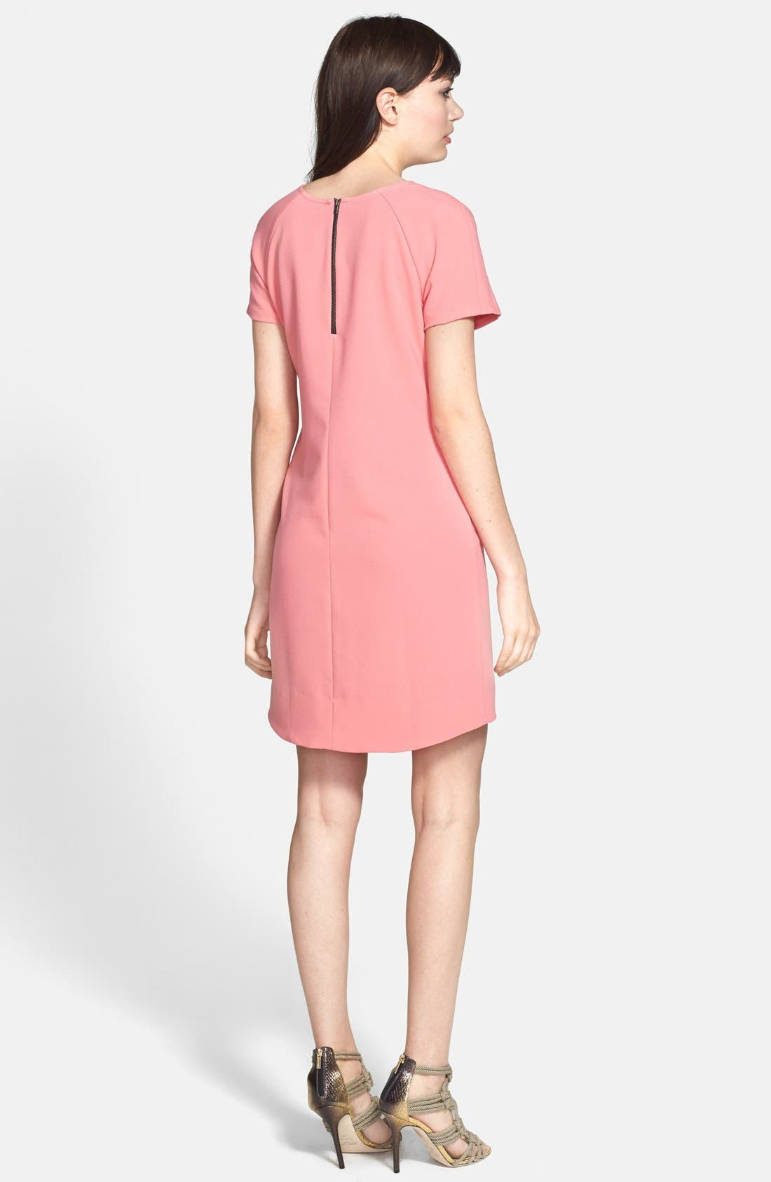 ,                             Crepe Shift Dress,                             Alternate thumbnail 26, color,                             950