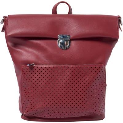 Urban Originals Solo Origin Vegan Leather Convertible Backpack - Burgundy