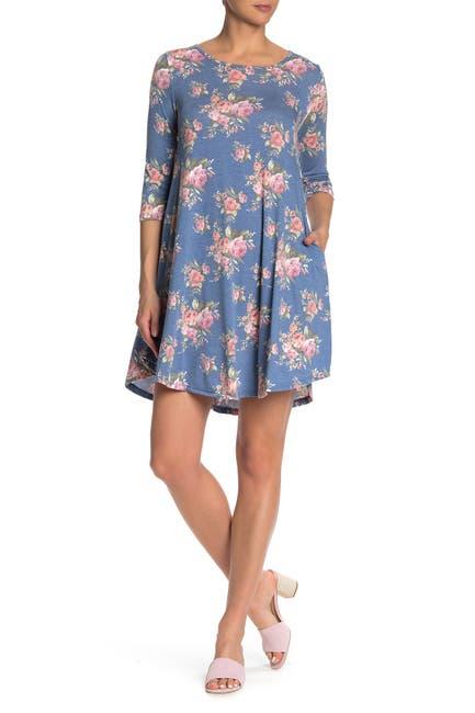 Image of Papillon Floral A-Line Dress
