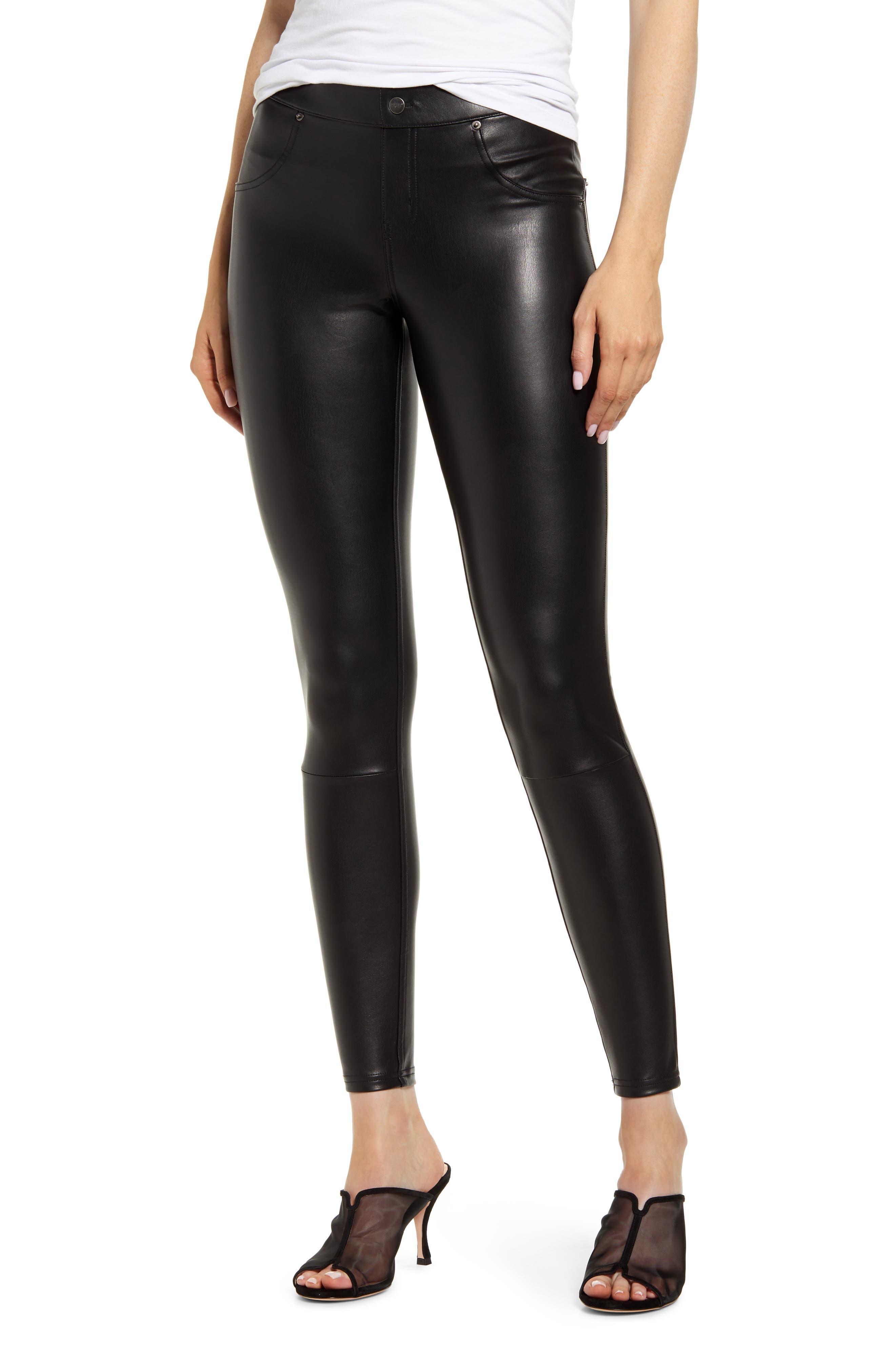 Hue Faux Leather Leggings | Nordstrom