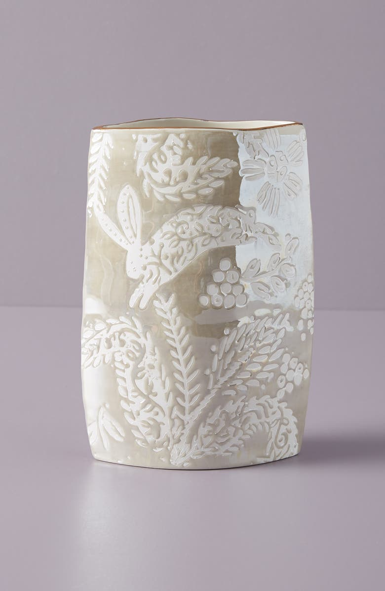 ANTHROPOLOGIE HOME Anthropologie Holly Vase, Main, color, 250