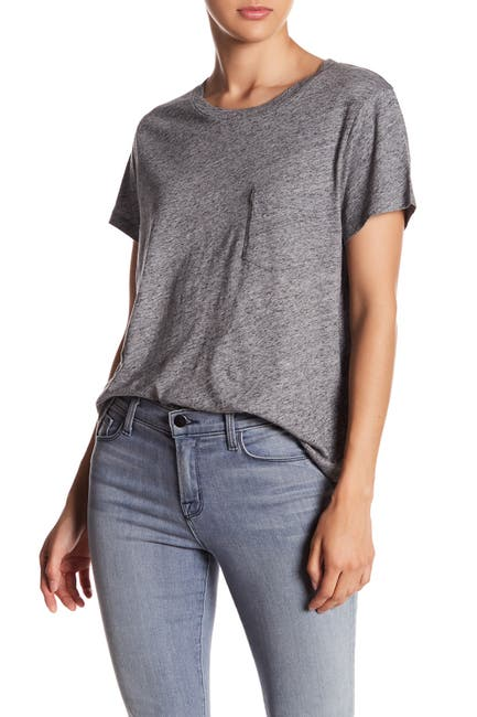 Image of Madewell Crew Neck Pocket T-Shirt