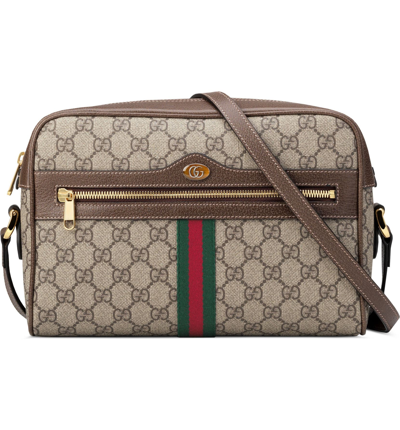 a607227b5a8431 Gucci Ophidia GG Supreme Canvas Crossbody Bag | Nordstrom