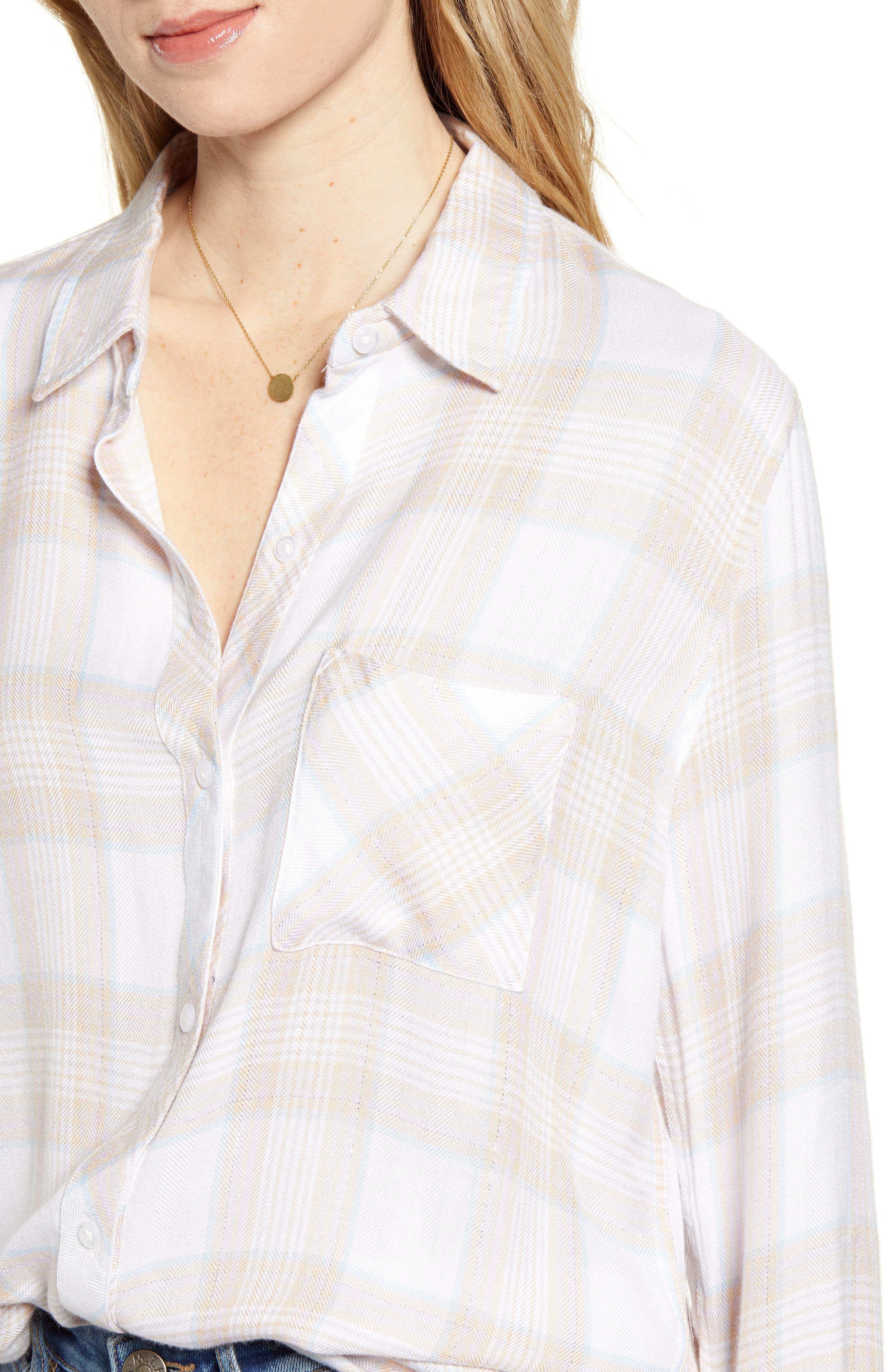 ,                             Hunter Plaid Shirt,                             Alternate thumbnail 192, color,                             651