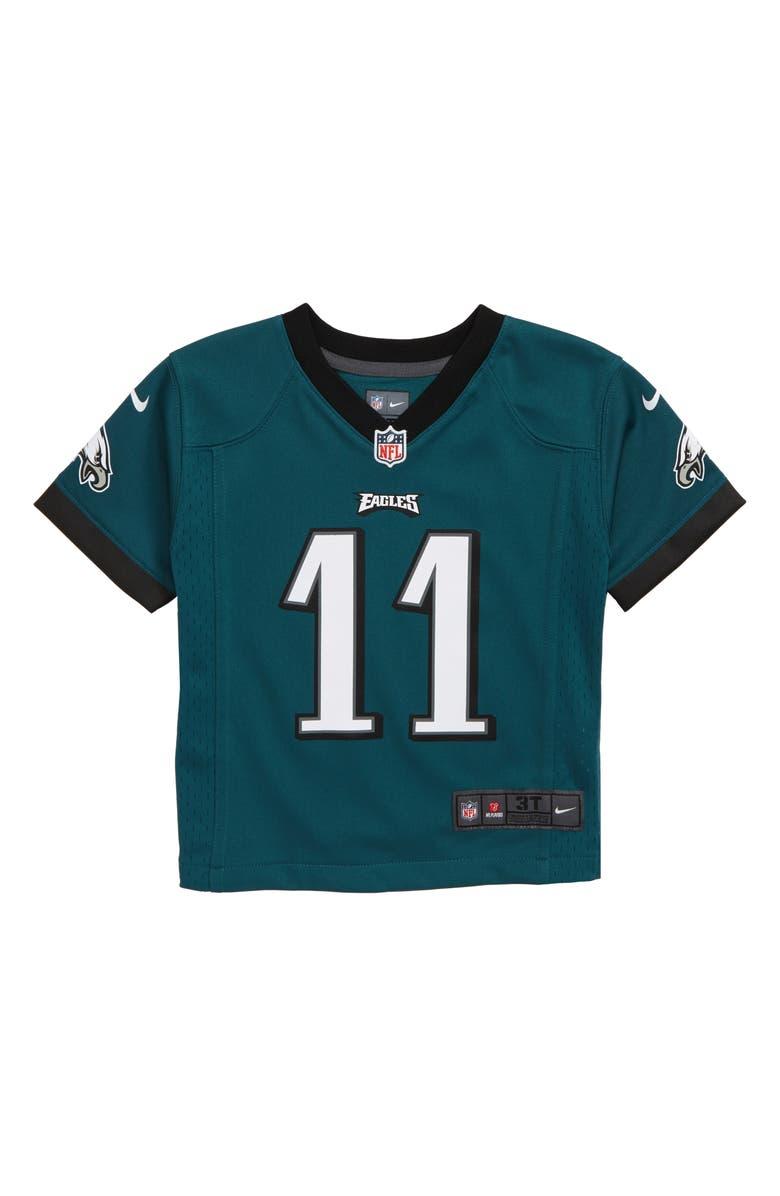 NIKE NFL Logo Philadelphia Eagles Carson Wentz Jersey, Main, color, EAGLES