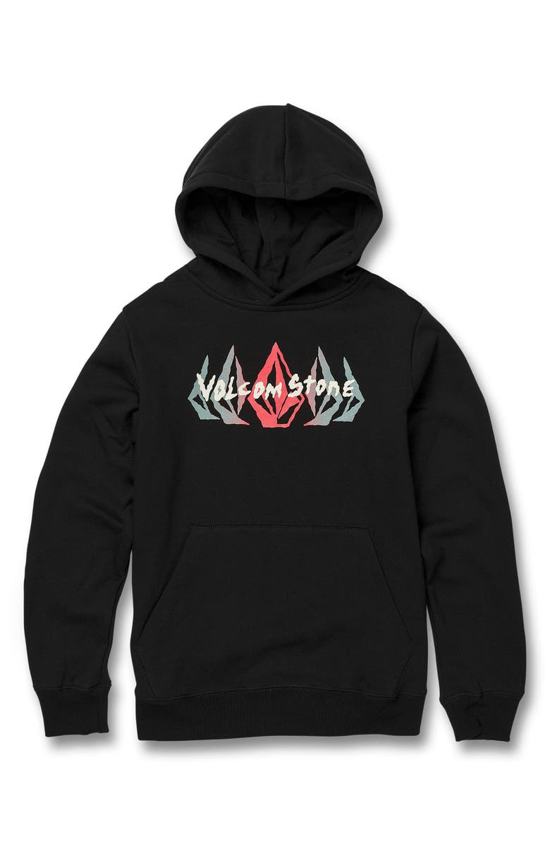 Volcom True To This Logo Graphic Hoodie Big Boys