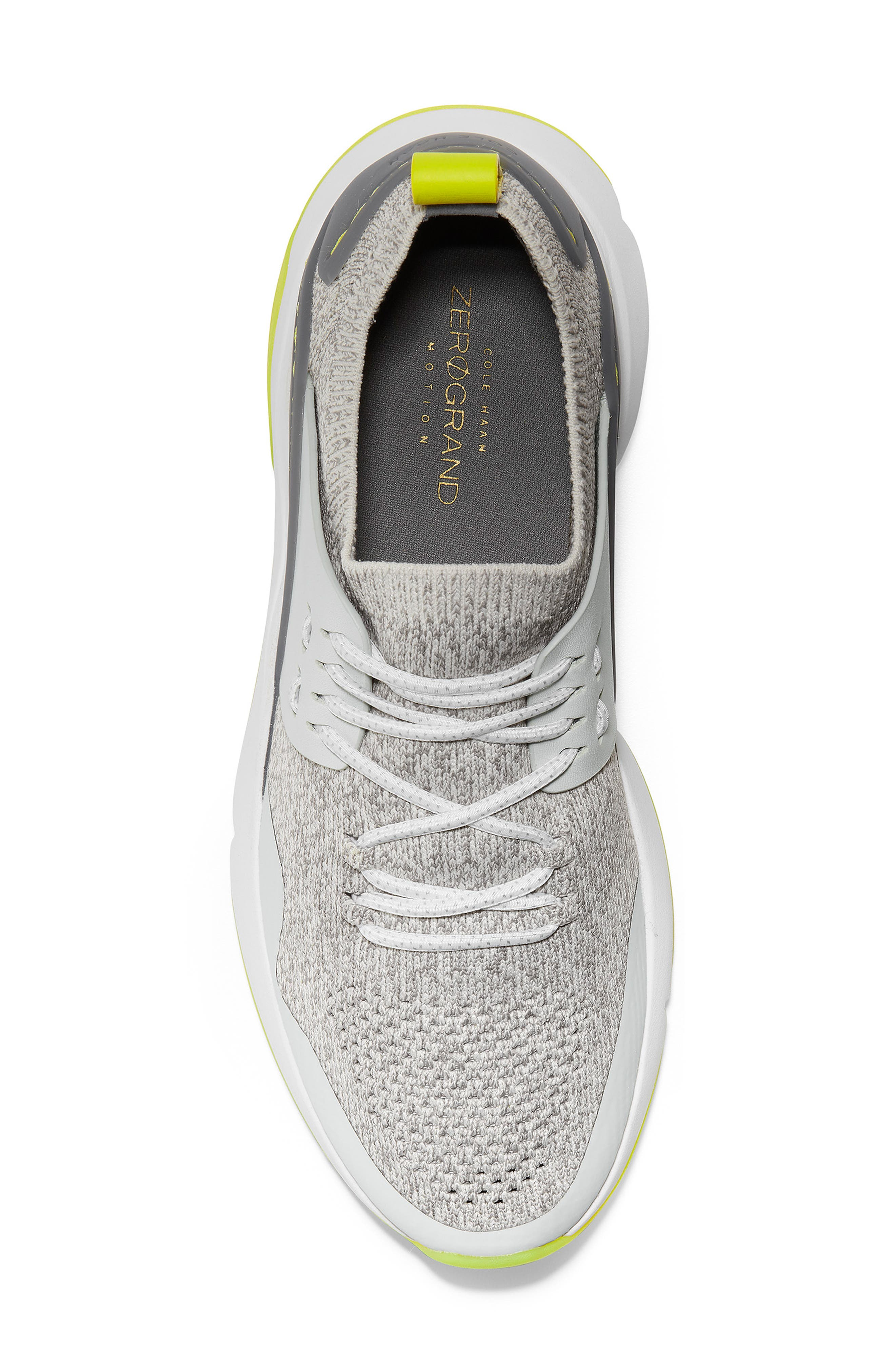 ,                             ZeroGrand All Day Trainer Sneaker,                             Alternate thumbnail 5, color,                             GREY/IRONSTONE LEATHER