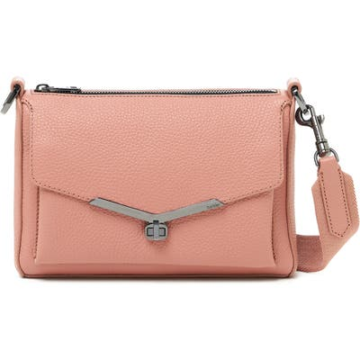 Botkier Valentina Leather Crossbody Bag - Pink