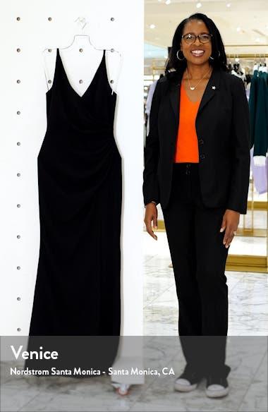 Jordan Ruched Mermaid Gown, sales video thumbnail