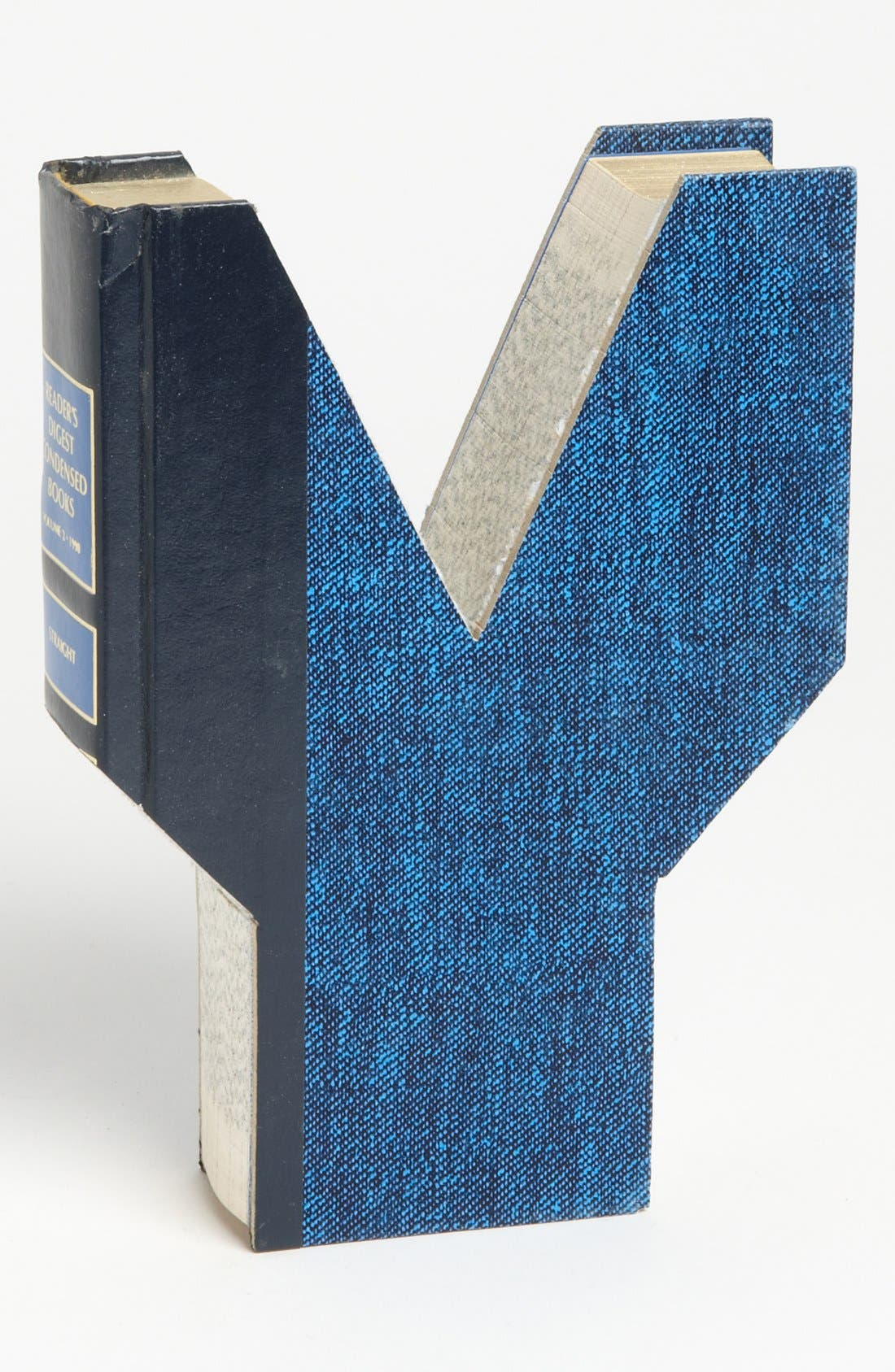 ,                             'One of a Kind Letter' Hand-Carved Recycled Book Shelf Art,                             Main thumbnail 106, color,                             231