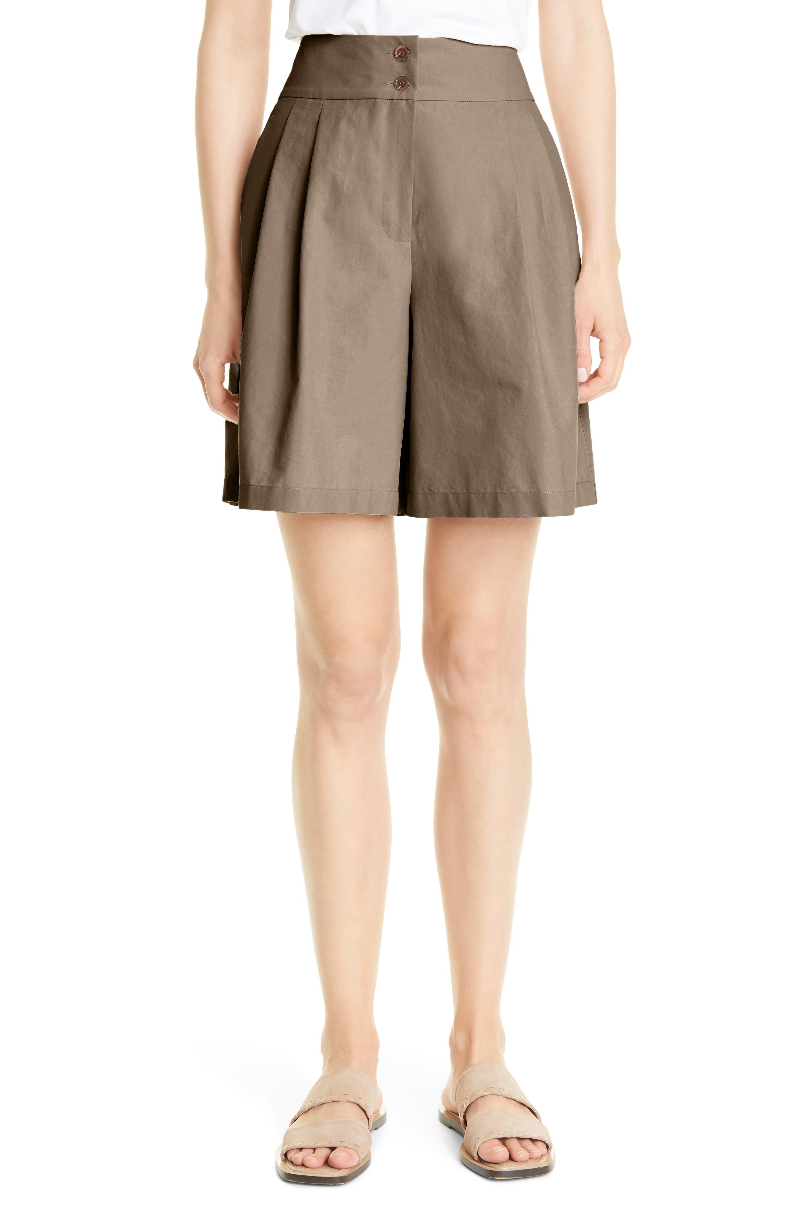 Lafayette 148 New York Leroy Cotton Bermuda Shorts