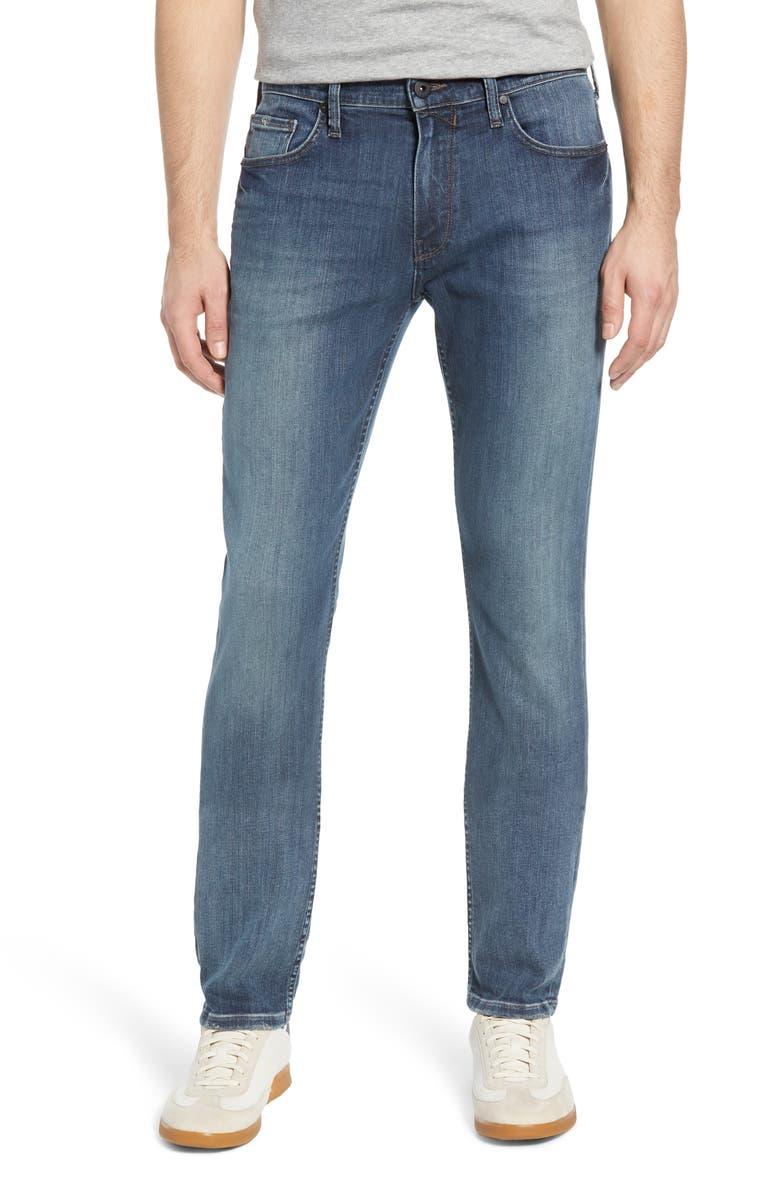 PAIGE Transcend - Federal Slim Straight Leg Jeans, Main, color, CALLOW
