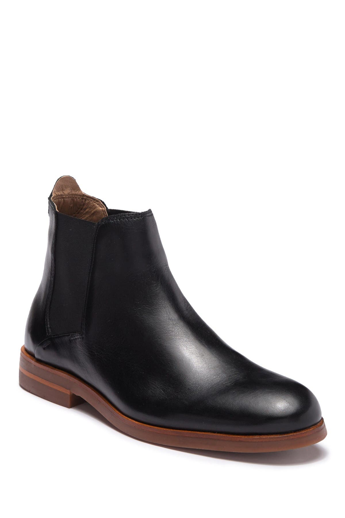 Image of H By Hudson Tonti Leather Chelsea Boot