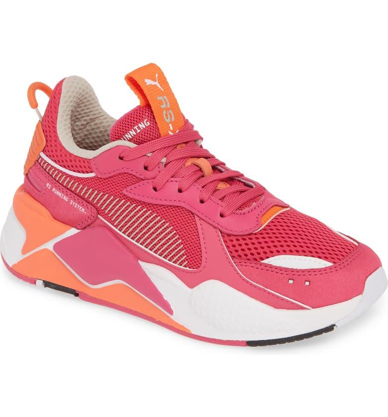 PUMA RS-X Reinvention Sneaker, Main, color, FUCHSIA / NASTURTIUM/ WHITE