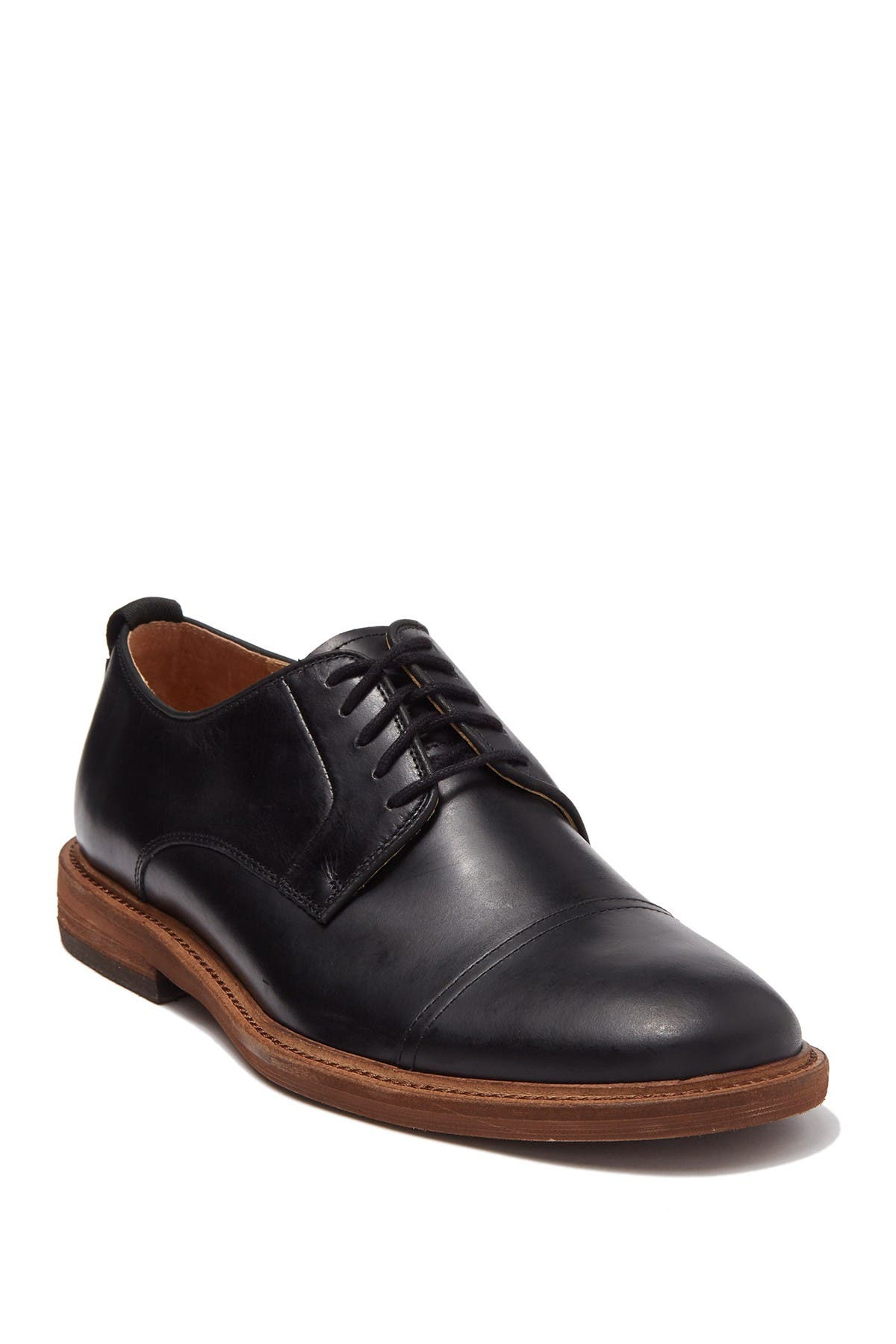 Image of Warfield & Grand Childs Leather Cap Toe Derby