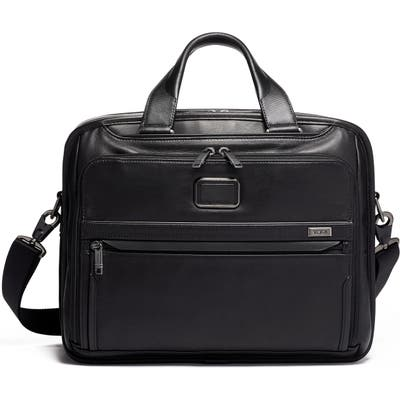 Tumi Alpha Organizer Briefcase - Black