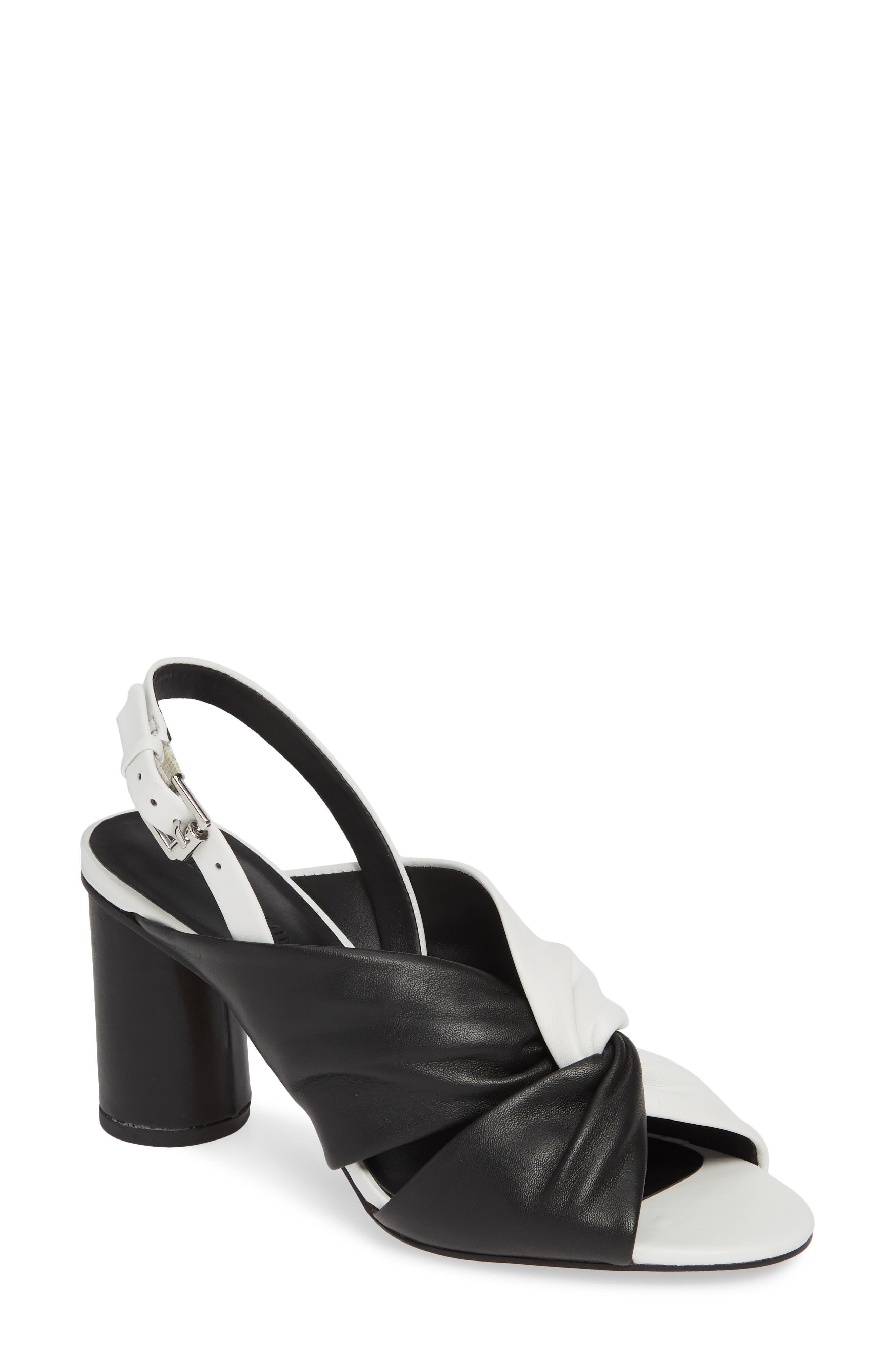 Rebecca Minkoff Agata Slingback Sandal, Black